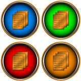 Four web icons Royalty Free Stock Photos