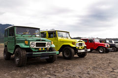 Four wheel drive vehicles Royalty Free Stock Images