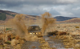 Four wheel driving Stock Image
