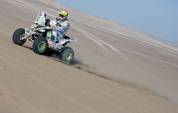 Four wheel races Dakar 2013 Royalty Free Stock Photography