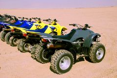 Four Wheelers Stock Photo
