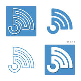 Four wifi Stock Images