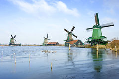 Four Windmills Royalty Free Stock Image