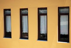 Four Windows Stock Image