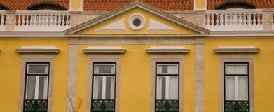Four windows Stock Image
