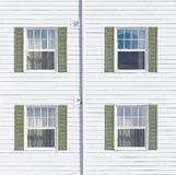 Four windows Stock Photos
