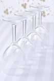 Four Wine Glasses Royalty Free Stock Images