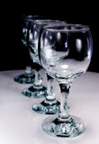 Four wineglass Royalty Free Stock Photo