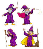 Four witches Stock Photo