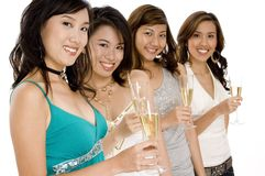 Four Women Stock Image