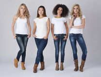 Four women Royalty Free Stock Images