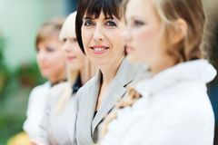 Four women office Stock Photography