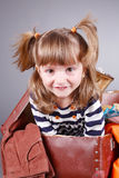 Four-year girl Royalty Free Stock Photo