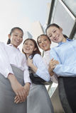 Four young businesswomen looking at the camera Royalty Free Stock Photography