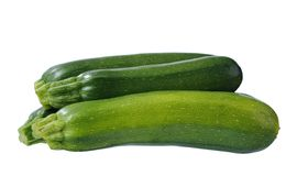 Four zucchini Royalty Free Stock Image