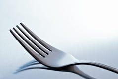 Fourchette bleue Images libres de droits