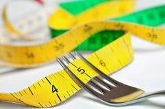Fourchette de centimètre Image stock