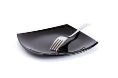 Fourchette de plat Images stock