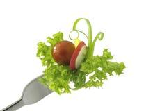 Fourchette de salade photos stock
