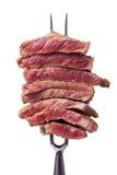 Fourchette de viande image libre de droits