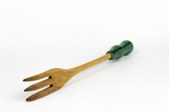 Fourchette en bois Photographie stock libre de droits