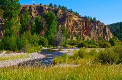Fourchette est Rock Creek photo stock