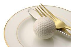 Fourchette et couteau. Images libres de droits