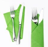 Fourchette et couteau photographie stock