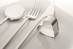 Fourchette et couteau image stock