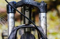 Fourchette sale de suspension de bicyclette Image libre de droits