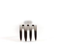 fourchette Vaisselle nécessaire pour le repas de la maison ou au restaurant Photo libre de droits