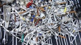 fourchettes à vendre Photo stock
