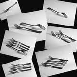 Fourchettes Photos stock