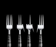 Fourchettes Photos libres de droits