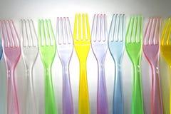 Fourchettes photo stock