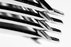 Fourchettes Photographie stock libre de droits
