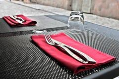 Fourchettes et couteaux image libre de droits