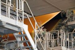 fourdrinier πολτός χαρτιού μύλων μηχ&alp Στοκ Φωτογραφία