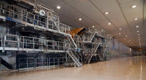 fourdrinier maszyny młynu papierowa braja Zdjęcia Royalty Free