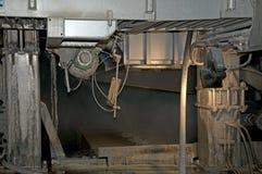 fourdriniermaskinen mal paper växtträmassa Arkivbilder