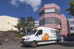fourgon de livraison de Transport-o-câble Image libre de droits