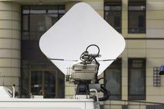 Fourgon de transmission de TV Image libre de droits