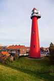 Fourgon Holland Lighthouse de Hoek Photo libre de droits