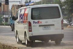 Fourgon logistique de Fedex Image libre de droits