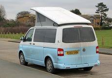 Fourgon sale de voiture de tourisme de campeur de VW Image stock