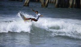 2015 fourgons USA s'ouvrent de la concurrence surfante Photos libres de droits