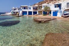 Fourkovouni, Milos island, Cyclades, Greece Royalty Free Stock Image