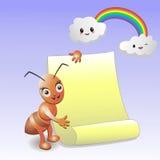 Fourmi animale d'alphabet Image stock