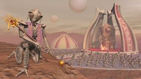 Fourmi grande de Mars Image libre de droits