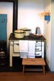 Fourneau de cuisson de vintage Image libre de droits